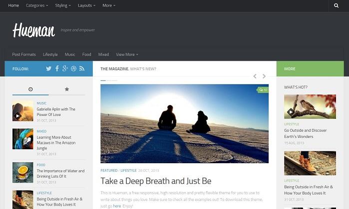 Hueman-Wordpress