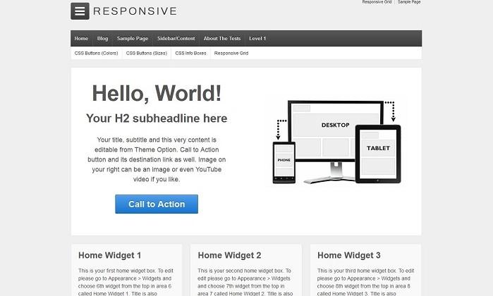 Responsive-Wordpress
