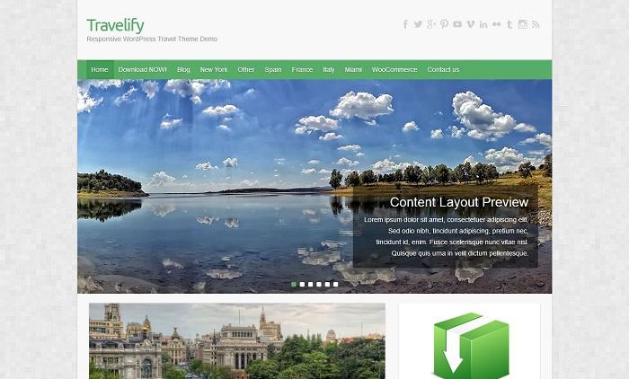 Travelify-WordPress
