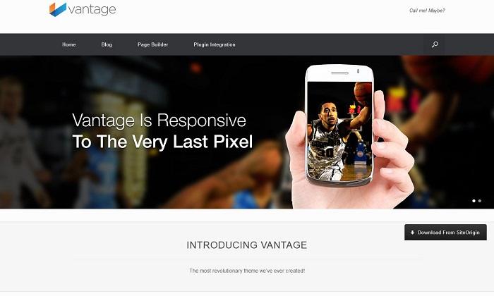 Vantage-Wordpress