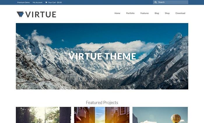 Virtue Free WordPress Responsive Theme
